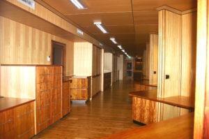 Cypress Floor Rosewood Desk & Tasmanian Oak Walls