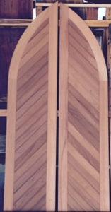 Replicate Church Doors