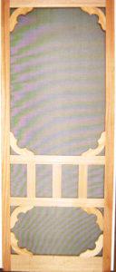 Victorian Ash screen Door with inserts